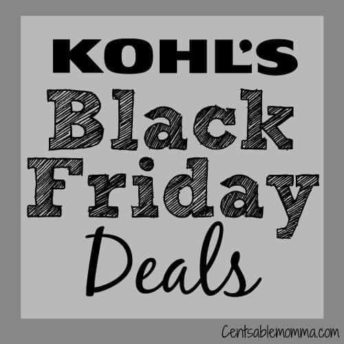 Kohl's Black Friday Online Sale