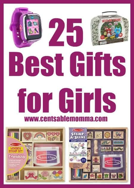 If you have girls on your holiday shopping list, you'll want to check out these gift ideas for girls with prices ranging from stocking stuffers on up.