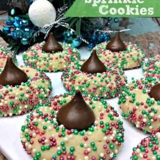 Holiday Sprinkle Cookies Recipe