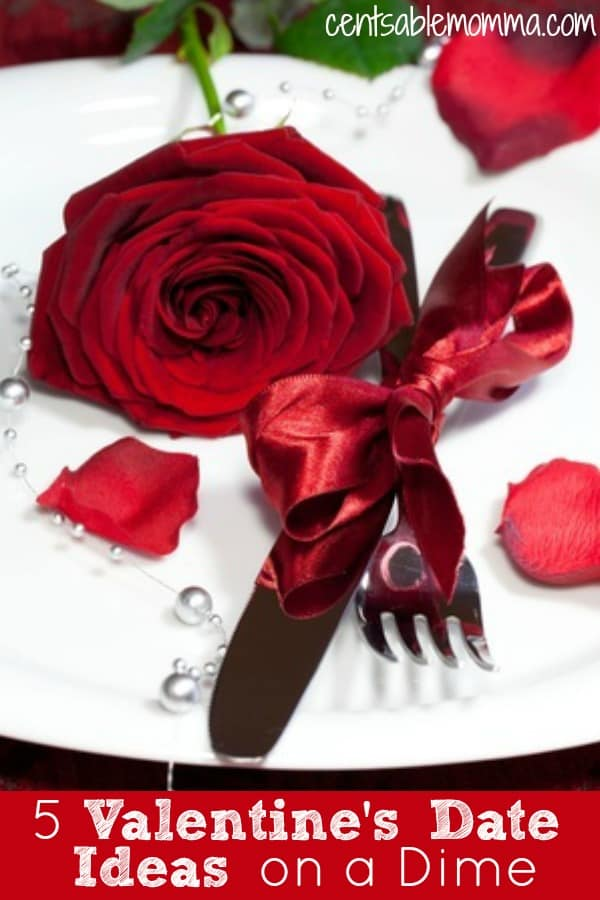 You want to spend time with your spouse or special someone for Valentine's Day, but you don't want to break the bank.  You can still have a fun and romantic evening with these 5 Valentine's Date Ideas on a Dime.