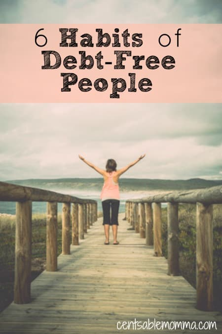 You may struggle with debt and can't imagine a day when you're debt-free. However, you can make it a reality if you follow these 6 habits of debt-free people and figure out how their habits may be different than yours!