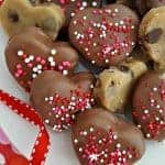 Chocolate Chip Cookie Dough Hearts