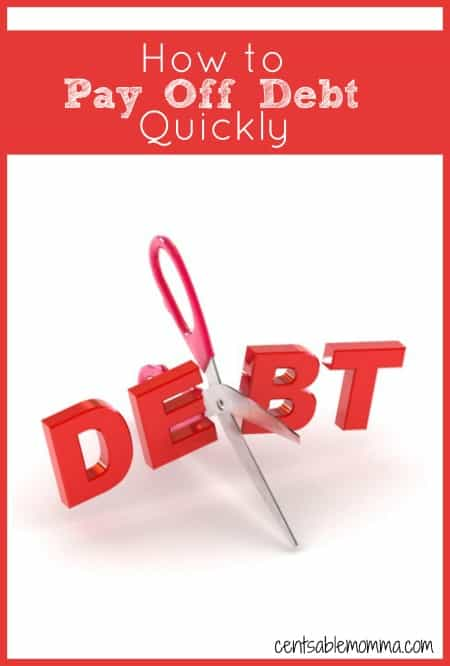 You have debt that you want to pay off, but you don't want to have to live on beans and rice for the rest of your life. Check out these 5 steps for how to pay off your debt quickly to finally get debt out of your life once and for all.