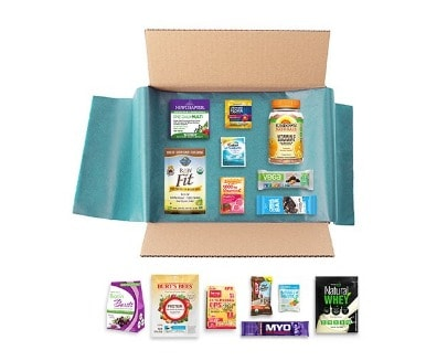 New Year New You Sample Box: FREE after Credit