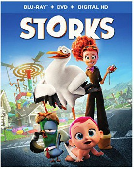 Storks Blu-ray/DVD Combo: $10 (50% off)