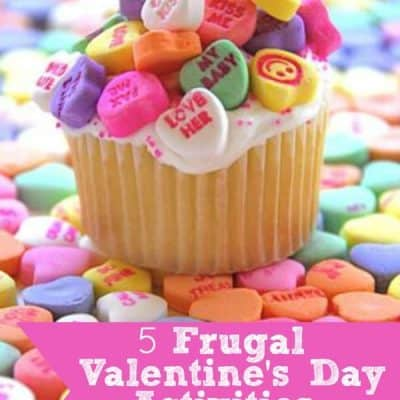 5 Frugal Valentine's Day Activities with Kids