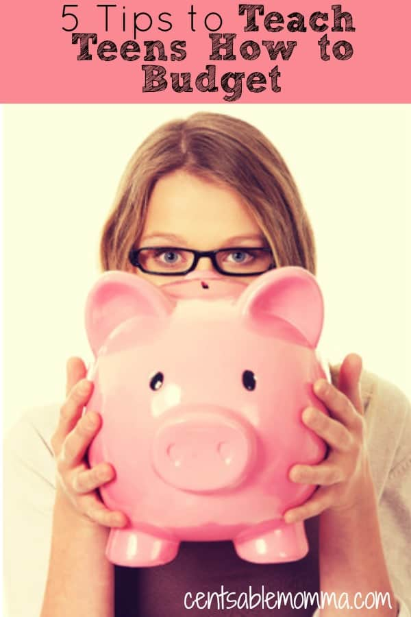 You want to make sure that you teach your kids how to manage their money so their ready for the real world when they graduate.  Check out these 5 tip to teach teens how to budget for some ideas on how to get them started on their debt-free journey.