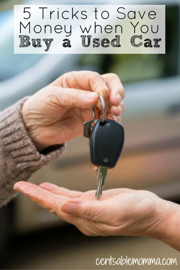 If you plan to buy a used car to save money, check out these 5 tricks to save even more money and get the best deal when you buy a used car.