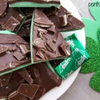 Grasshopper Mint Chocolate Bark Recipe