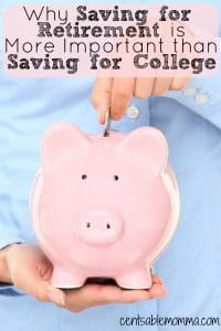 If you don't have enough money to save for both retirement and college, check out these 5 reasons why it's more important to save for retirement than college.