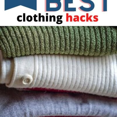 5 of the Best Clothing Hacks