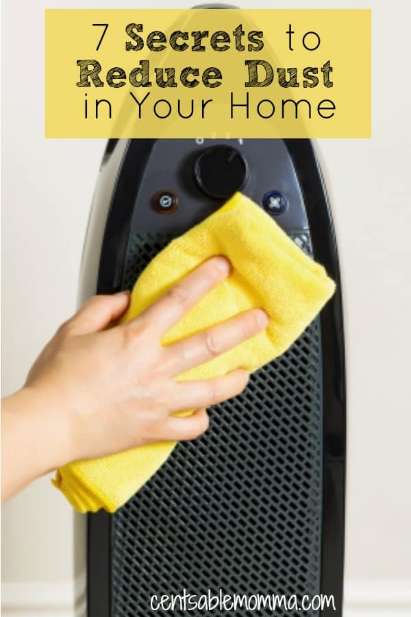7 Secrets to Reduce Dust in Your Home