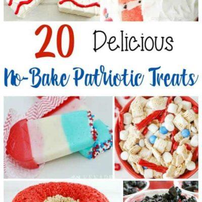 20 Delicious No-Bake Patriotic Treats