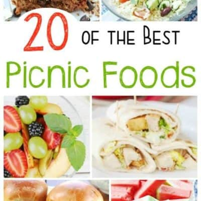 20 of the Best Picnic Foods