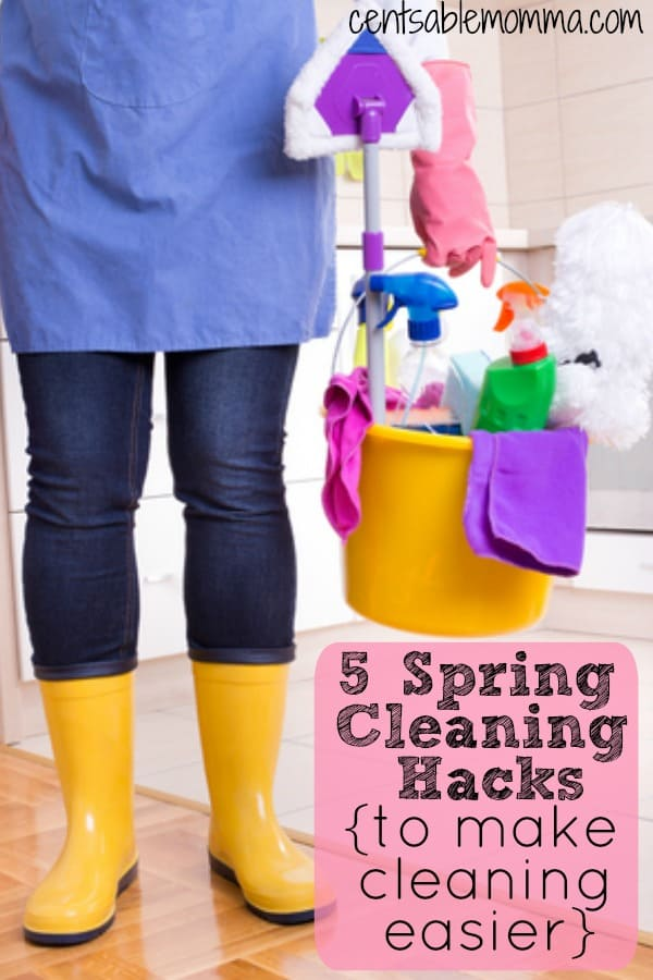 5 Spring Cleaning Hacks