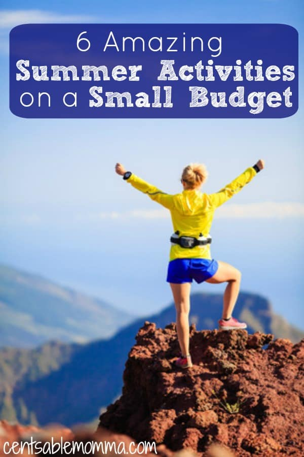 You want to make this summer your best summer yet, but you don't have a huge budget for fun. Check out these 6 amazing summer activities that you can do on a small budget for some great inexpensive ideas.