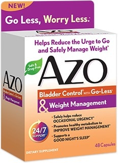 AZO Bladder Control & Weight Management: $5 off Coupon + $100 Target Gift Card Giveaway
