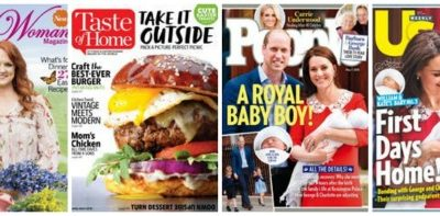 Last Minute Mother's Day Gifts: Magazine Sale