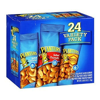 Planters Nut Variety Pack (24 ct.): $7.13 + FREE Shipping