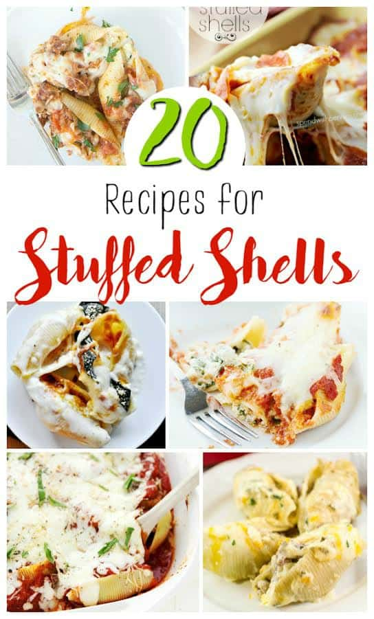 Make Italian dinner night fun again by trying out some of these 20 Stuffed Shells recipes.