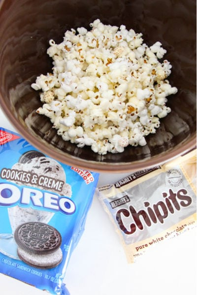 cookies and cream popcorn ingredients