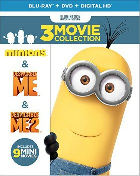 Despicable Me 3-Movie Collection Blu-ray/DVD Combo: $16.99 (30% off)