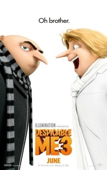 Despicable Me 3 Movie: in Theaters June 30 + Giveaway
