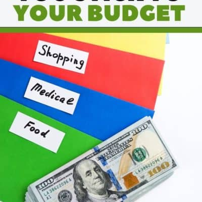 How a Cash Envelope System will Help You Stick to Your Budget