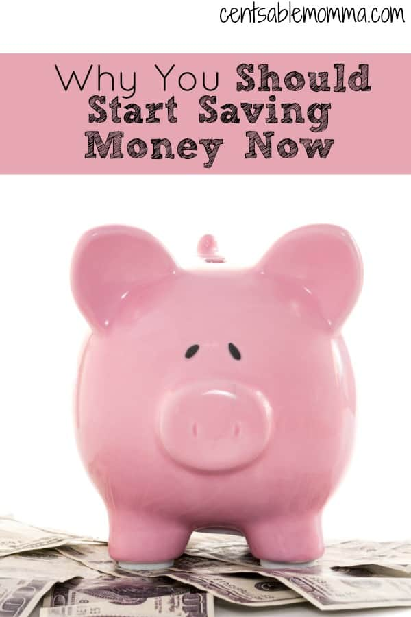 Why You Should Start Saving Money Now