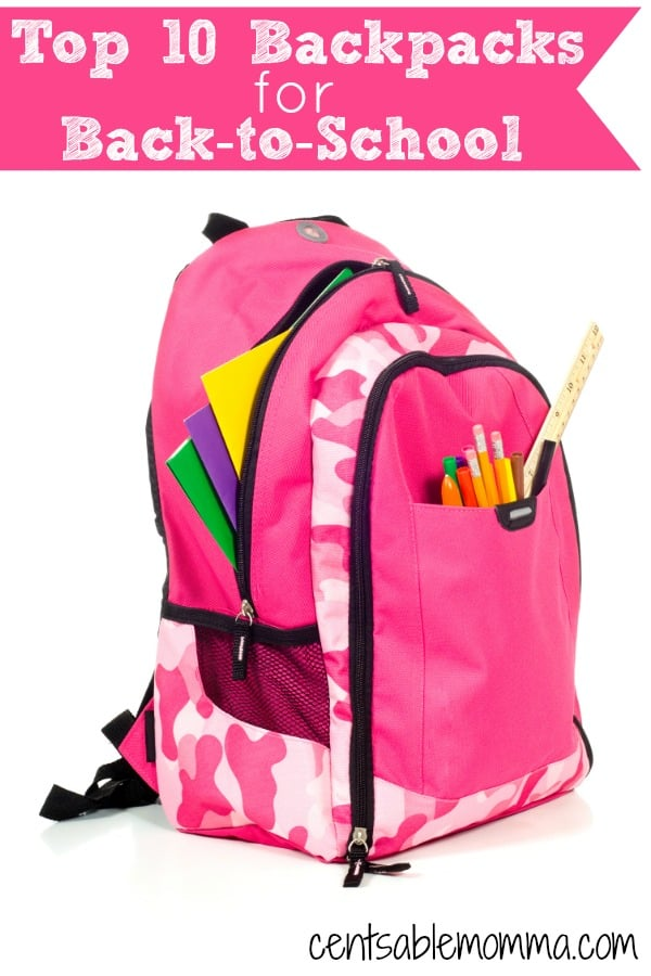 It's back-to-school shopping season, which means lots of gear for school including these top 10 bestselling backpacks for your students whether they be elementary aged to teens.