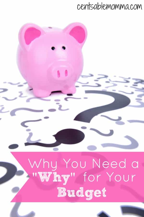 Do you struggle with keeping to your budget each month?  Do you have a reason for your strict budget - like getting out of debt, saving for college, etc?  Find out why you need to have a