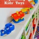 5 Tricks for Organizing Kids Toys