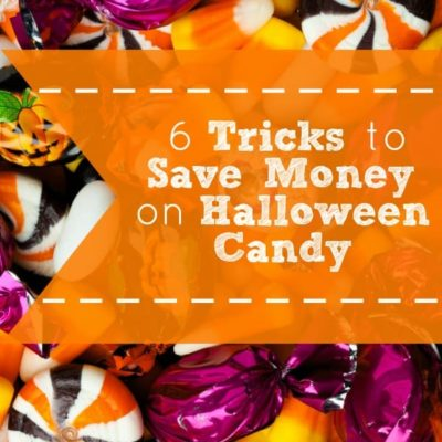 6 Tricks to Save Money on Halloween Candy