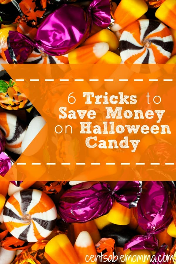 The cost of Halloween candy doesn't have to break the bank. Check out these 6 tricks to save money on Halloween Candy this Halloween.