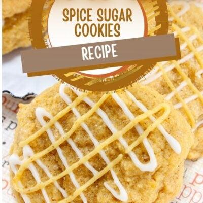 Pumpkin Spice Sugar Cookies Recipe