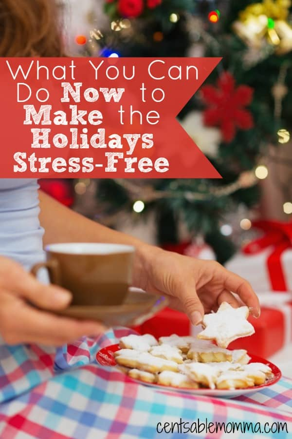 If you want to have a more relaxing holiday season this year, check out these 6 things you can start doing now to make your holidays stress-free this year.