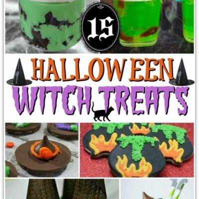 15 Halloween Witch Treats