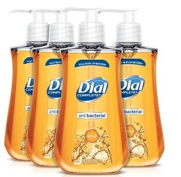 Dial Antibacterial Liquid Hand Soap (4 ct.): $3.43 + FREE Shipping