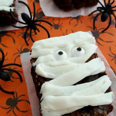Mummy Brownies Recipe