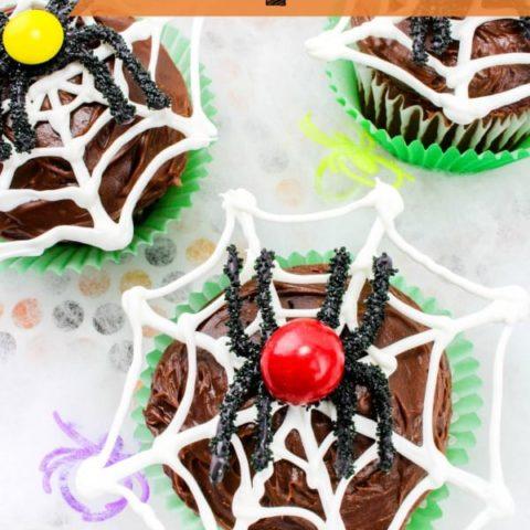 Spiderweb Cupcakes Recipe