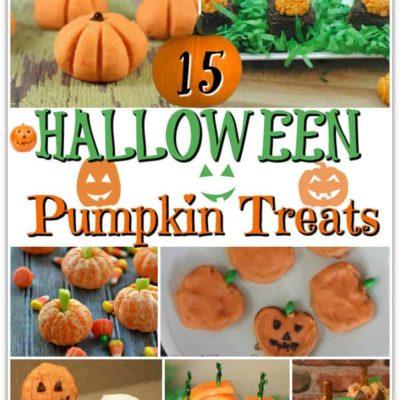 15 Halloween Pumpkin Treats