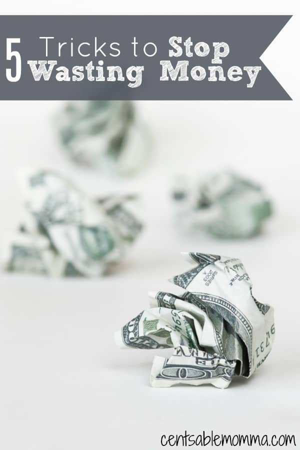 In order to make sure that your money is working for you, you'll want to make sure that you aren't wasting it.  Check out these 5 Tricks to Stop Wasting Money for some tips on how to keep on track with your finances - whether you're trying to pay off debt or increase your savings.