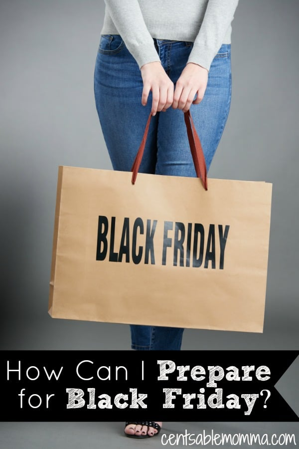 Black Friday is an awesome day for buying gifts and things you need at great deals.  However, you need to have a plan before you head out shopping.  Check out these 6 tips to help you get ready fro Black Friday.