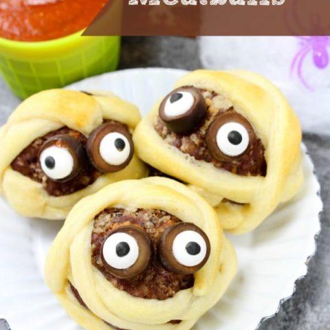 Mummy Meatballs Recipe