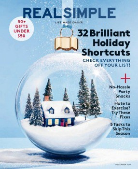 Real Simple Magazine: $4.99 per Year + More