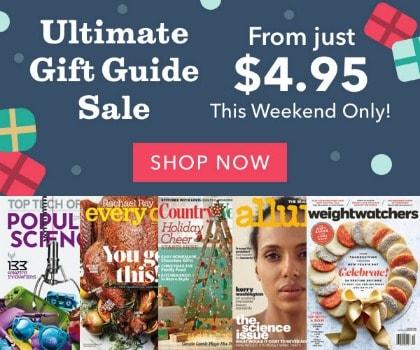 Magazine Gift Guide Sale