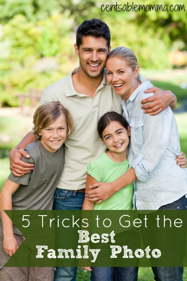 5 Tricks to Get the Best Family Photo