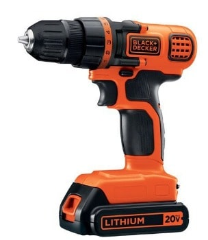 BLACK+DECKER 20-Volt Cordless Drill/Driver: $29 (41% off) + FREE Shipping