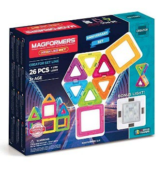 Magformers Magnetic Tiles Kit: $17.44 (65% off) + FREE Shipping