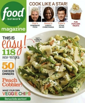 Food Network Magazine: $7.95 per year